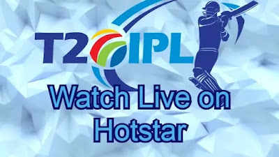 watch IPL live on hotstar