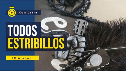 🖤Todos los Estribillos con LETRA de  🔝todas las Comparsa de 🏴Juan Carlos Aragón Becerra 🧥