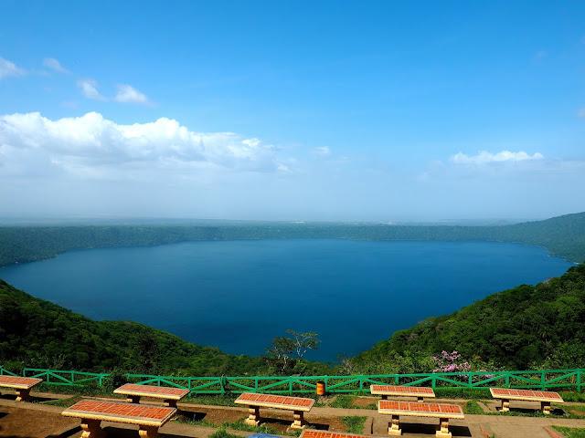 Laguna de Apoyo near Granada, Nicaragua