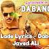 NAINA LADE LYRICS - Dabangg 3 | Salman Khan - Lyricswale