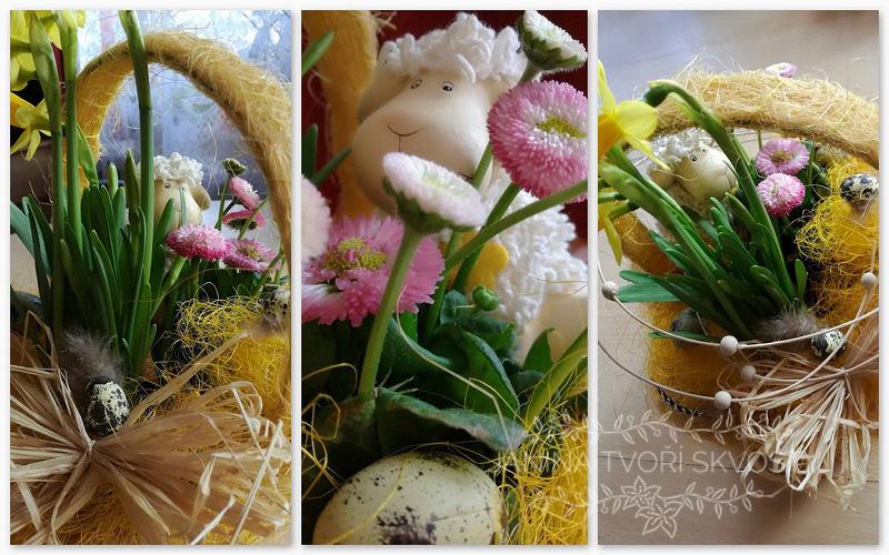 aranžmá, velikonoce, easter, dekorace