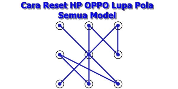Cara Reset HP OPPO Lupa Pola Semua Model