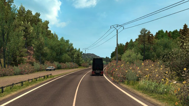 ets 2 spring weather mod v3.1 screenshots 2