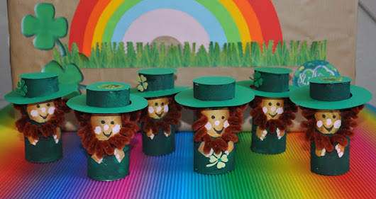 Blog with Friends - Leprechaun Craft