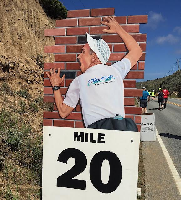 il muro nella maratona