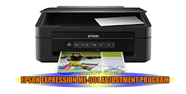 EPSON EXPRESSION ME-301 PRINTER ADJUSTMENT PROGRAM