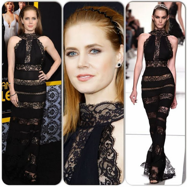 Amy Adams in Elie Saab – 'American Hustle' New York Screening