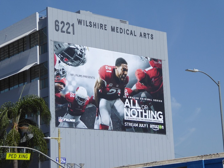 All or Nothing season 1 Arizona Cardinals billboard
