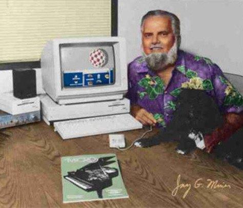 Jay Miner και Amiga 1000
