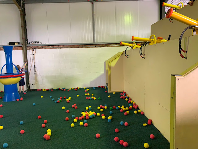Air Ball cannons at Barleylands