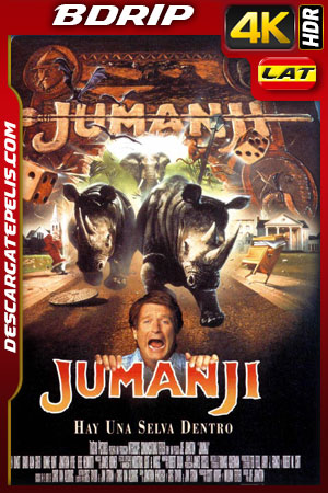 Jumanji (1995) 4k BDrip HDR Latino – Ingles