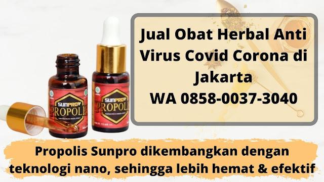 Jual Obat Herbal Anti Virus Covid Corona di Jakarta WA 0858-0037-3040