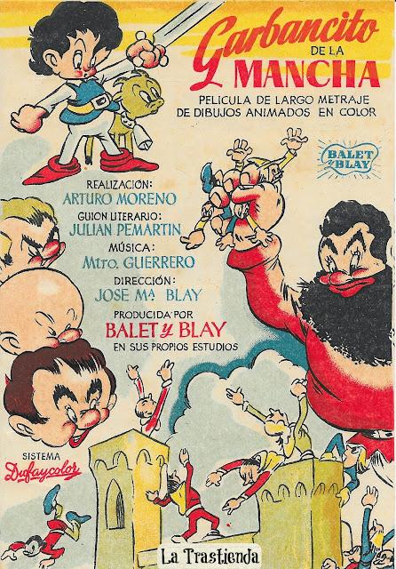 Garbancito de la Mancha - Programa de Cine - Dibujos Animados - Balet y Blay