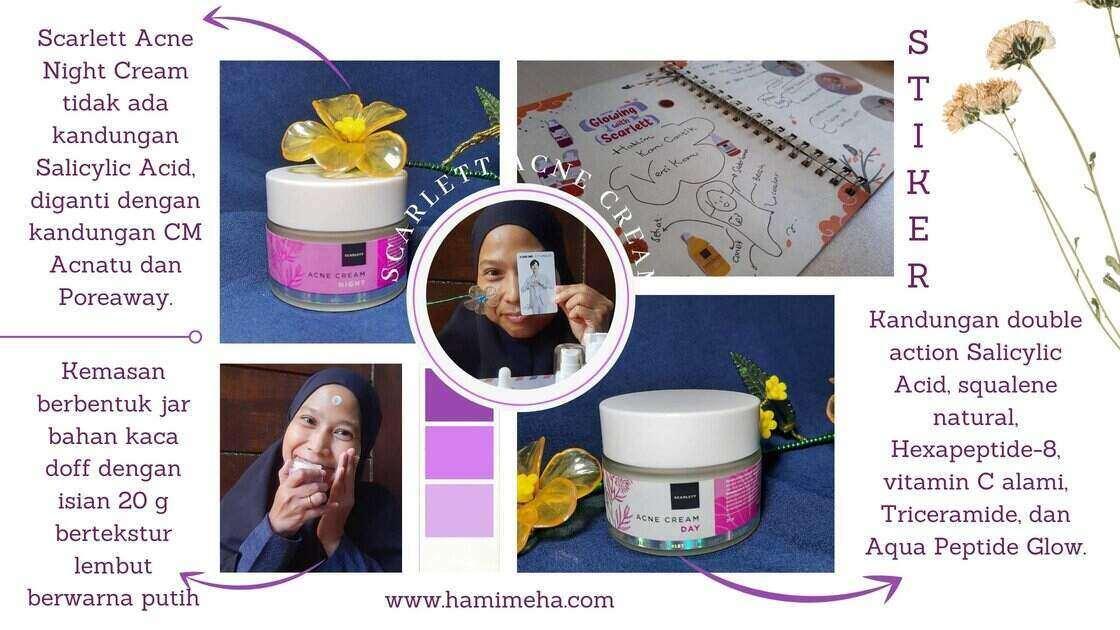 Penggunaan scarlett acne cream