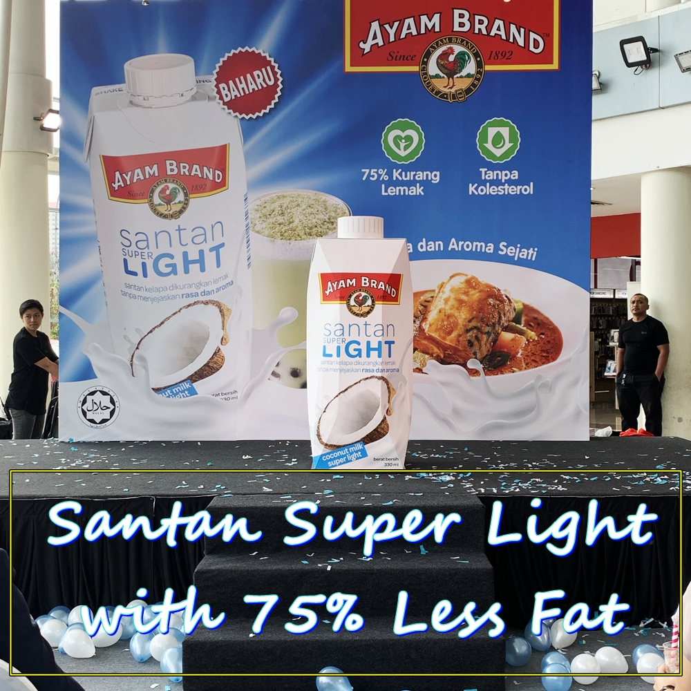 Ayam Brand, Santan Super Light, 75% Less Fat, Rawlins Eats, Eat Healthy, no Cholesterol, Rawlins GLAM