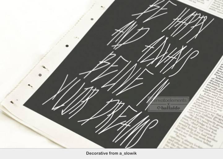 Inspirasi Font Graffiti