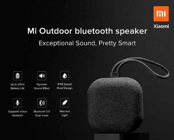 Mi outdoor wireless speaker