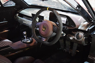 Arash AF10 Hybrid Super Car Cabin Interior Picture