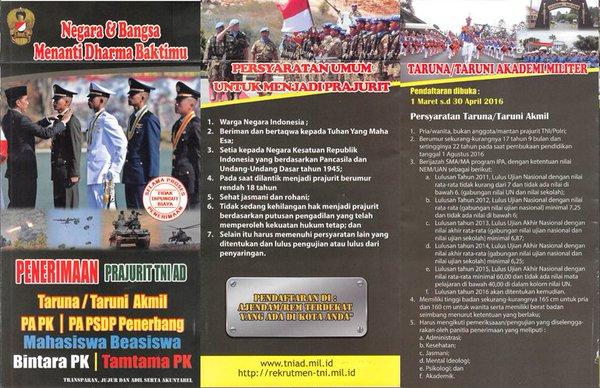 brosur akmil 2016