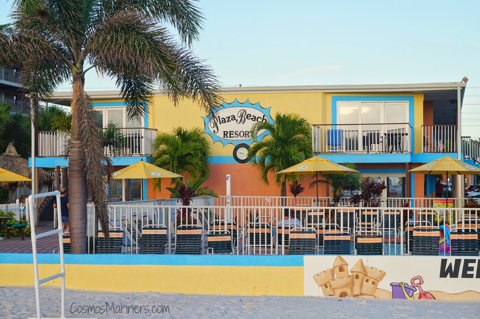 Plaza Beach Hotel St Pete Florida Cosmosmariners