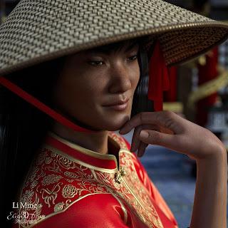 Elite 3D Models - Gail Edwards - Li Ming