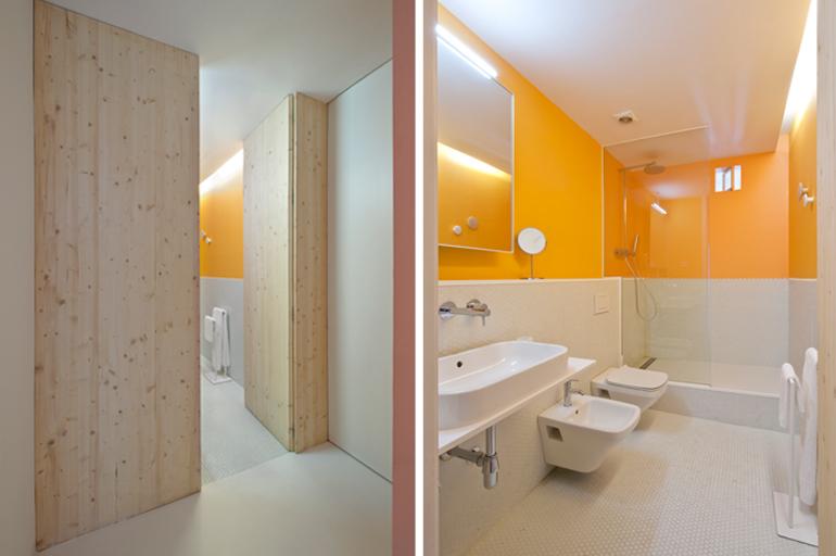 baño apartamento colorista