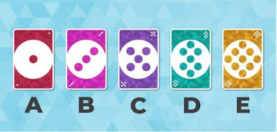 Let's test your attentiveness: Which colour hasn't appeared yet and is not part of the game?