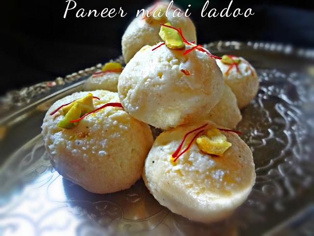 Paneer malai ladoo.Diwali sweet