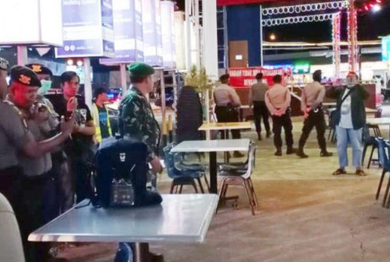 Sisir Kawasan Nagoya dan Batam Center, Tim Patroli Bubarkan Pengunjung Hiburan Malam