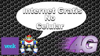 Como Foi usar a (Veek) Primeira [Operadora Gratuita] do Mundo com Internet 4G Grátis