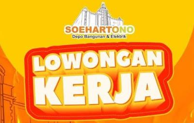 Soehartono Depo Bangunan & Elektrik membuka lowongan untuk posisi CHECKER, dengan kualifikasi