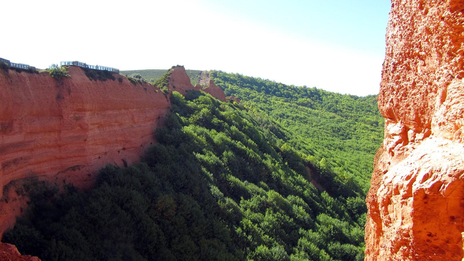 Dentro de las Médulas, León