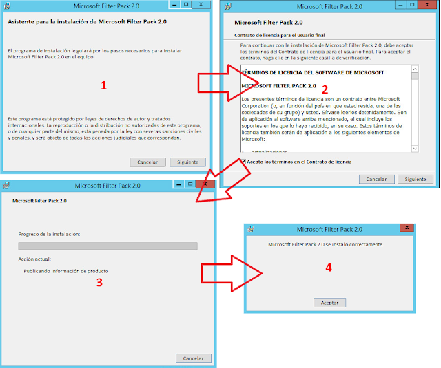 Microsoft Office 2010 Filter Pack 2.0 - Proceso de instalación.