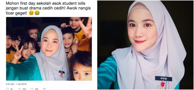 Foto Cikgu-Cikgu Cantik Di Sekolah 2018