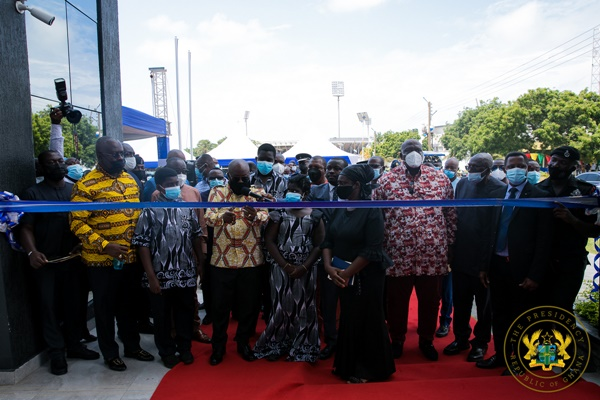 President Akufo-Addo Commissions National Security Ministry Bulding; Launches National Security Strategy