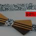 Cupom  50% de desconto em Gravatas Borboleta Atitude Madeira