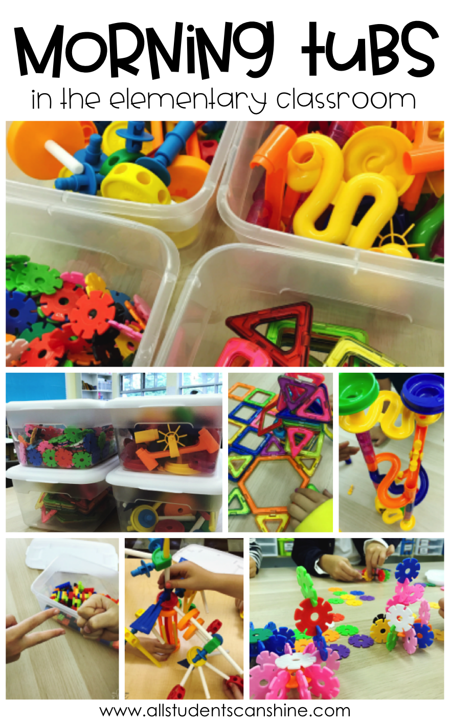 All Students Can Shine: Morning Tubs in the Elementary Classroom