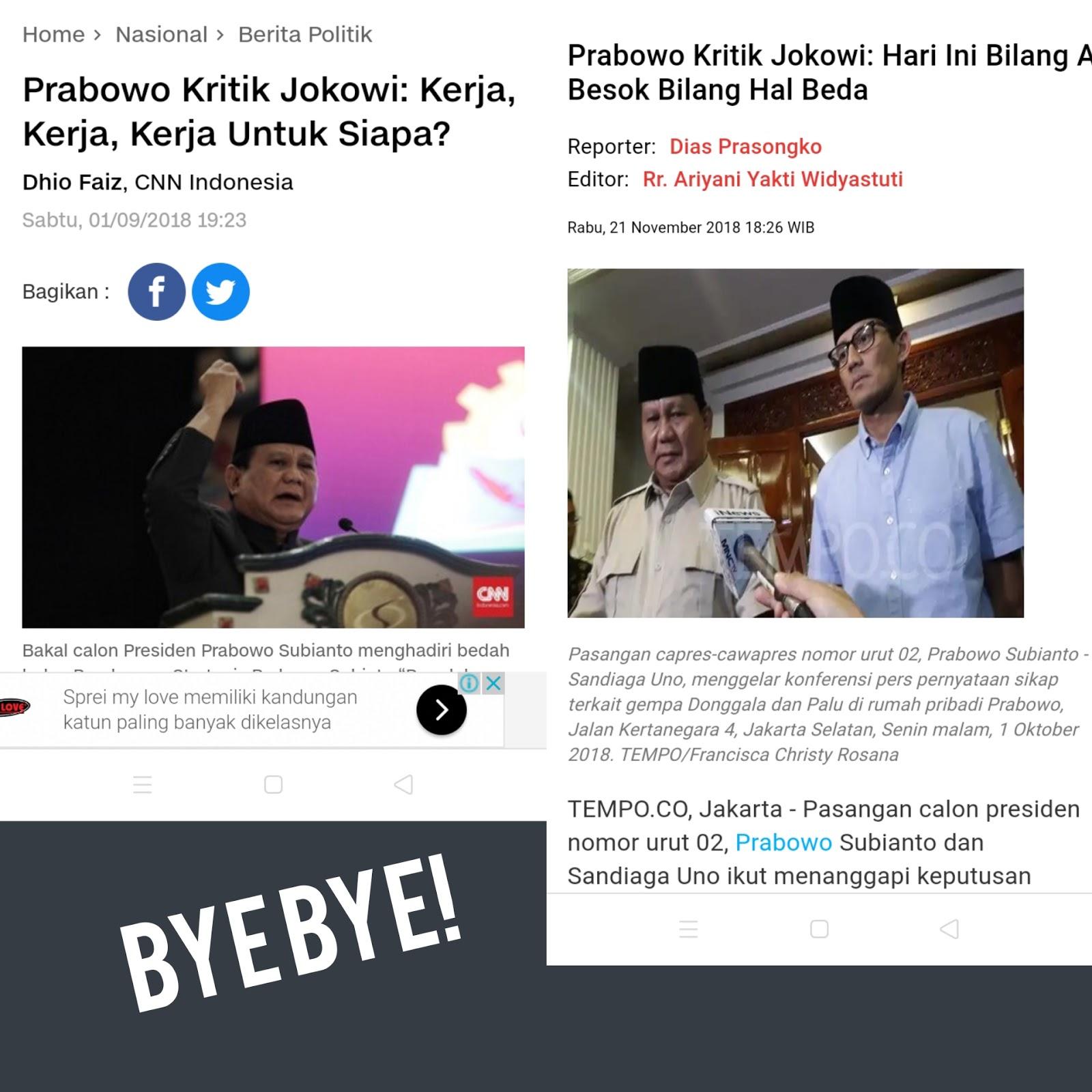 Selama di Kabinet, Prabowo Bersaksi Jokowi Komit Berjuang untuk Rakyat