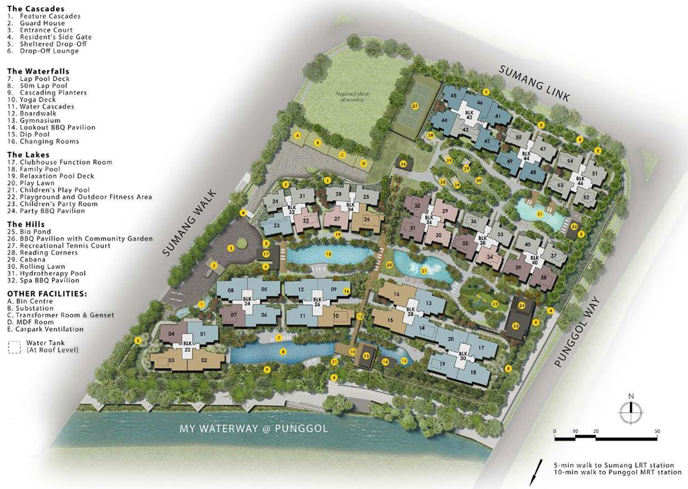 Piermont Grand EC - Site Plan