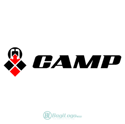 Camp bicycle Logo Vector