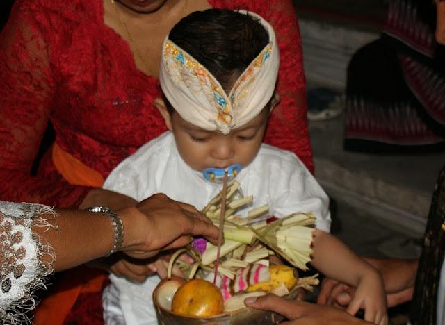 Jatakarma Samskara di bali