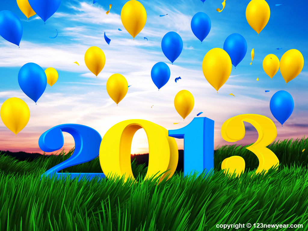 Happy New Year 2013.6 Free New Year Cards For Download 2014
