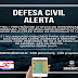 Defesa Civil Estadual alerta para acumulado de chuvas em Maruim e outros 66 municípios