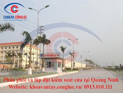 Cung cấp và lắp đặt các hệ thống kiểm soát cửa ra vào tại tỉnh Quảng Ninh.