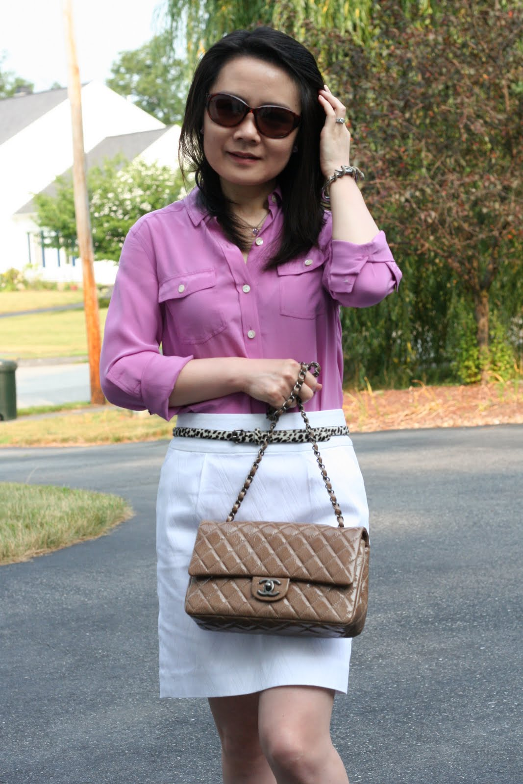 Vicky S Daily Fashion Blog Chanel Reveal 1 Camel Beige
