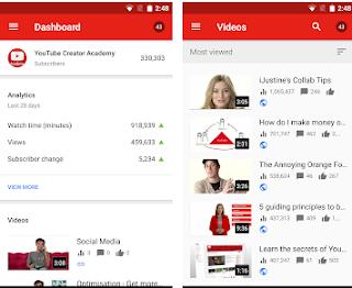 2 Cara Melihat Jam Tayang Youtube di Android