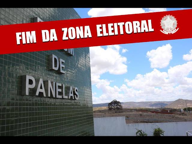 FIM DA ZONA ELEITORAL DE PANELAS-PE