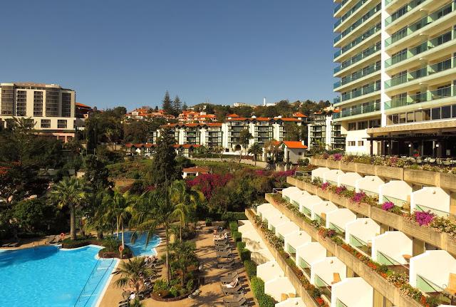 a green hotel (Pestana Carlton Madeira)