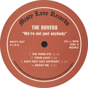 The Dovers - We're Not Just Anybody - Singles (1965-1966) (2001 USA)
