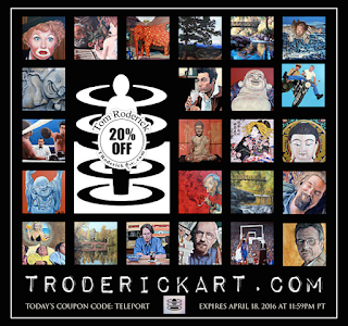 20% off Everything limited time only roderick.com